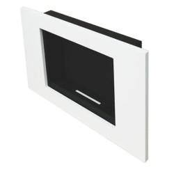 Biokominek Goya biały