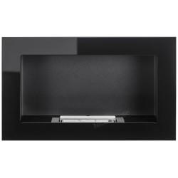Biokominek Nice-House czarny połysk 65x40cm