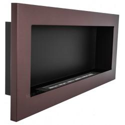 Biokominek Nice-House brązowy 90x40cm