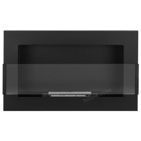 Biokominek Nice-House czarny 65x40cm z szybą