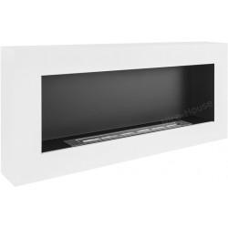 Biokominek Nice-House biały box 90x40cm