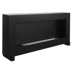 Biokominek Nice-House czarny box 90x40cm stojący