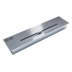 Palnik 47cm inox srebrny do zabudowy