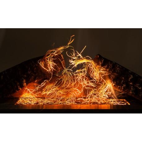 włókna żarowe efekt żarzenia glow flame