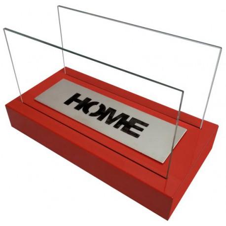 Biokominek Nice-House Home czerwony